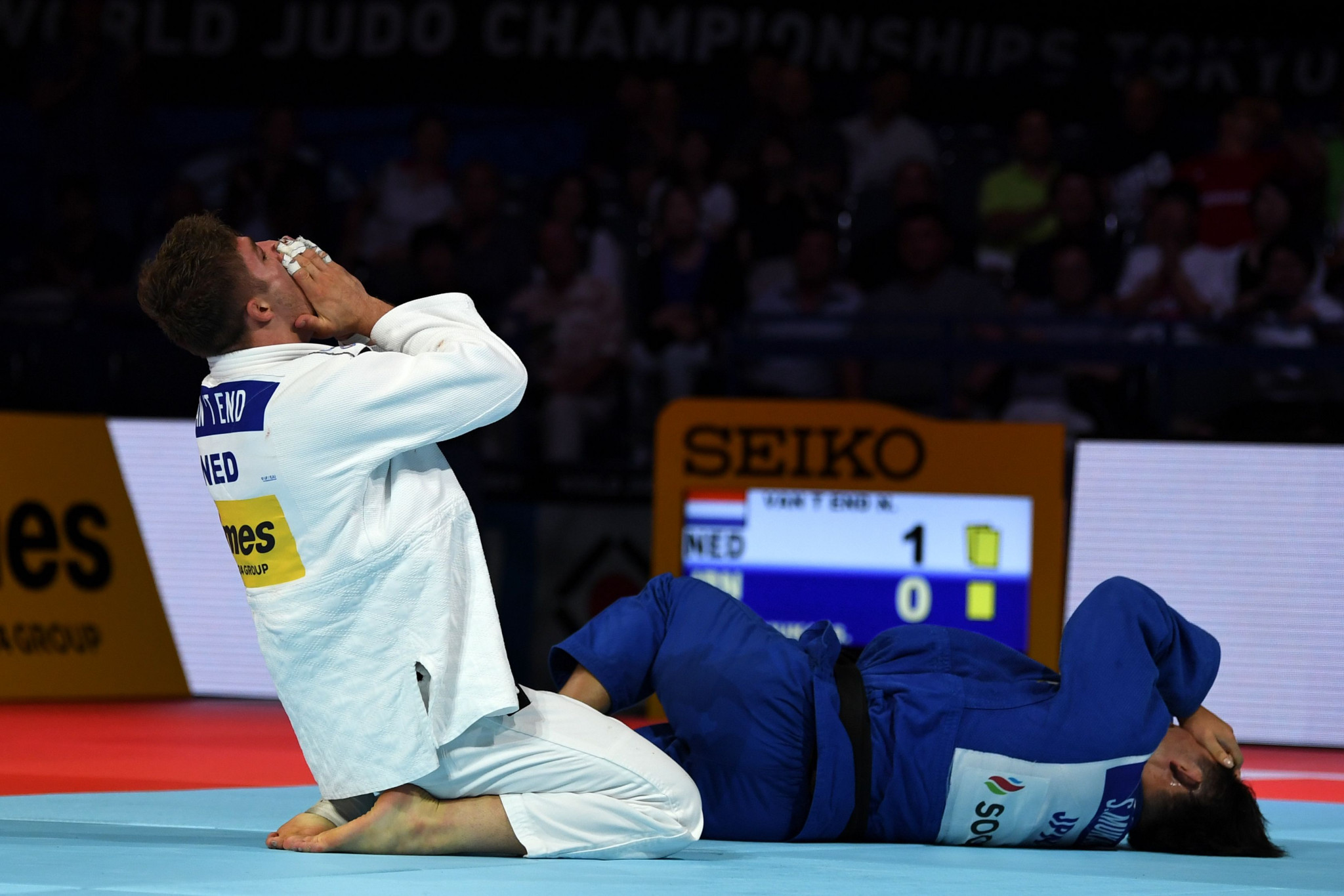 Remarkable day for European judo as France and Netherlands win IJF World Championships gold