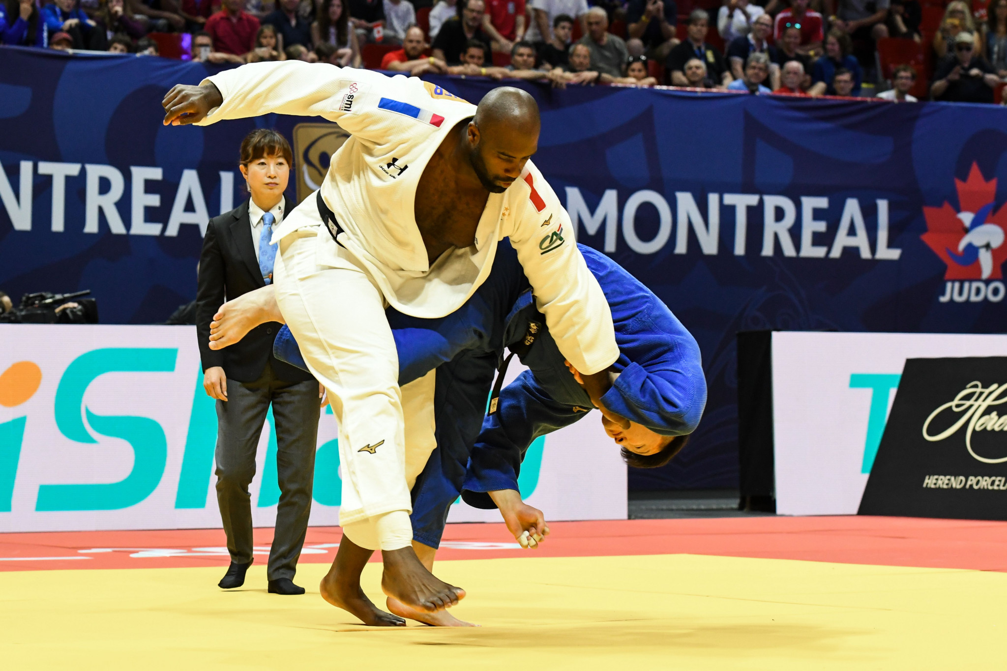 Riner says he will be back on the tatami in Tokyo next year for the Olympic Games ©Getty Images