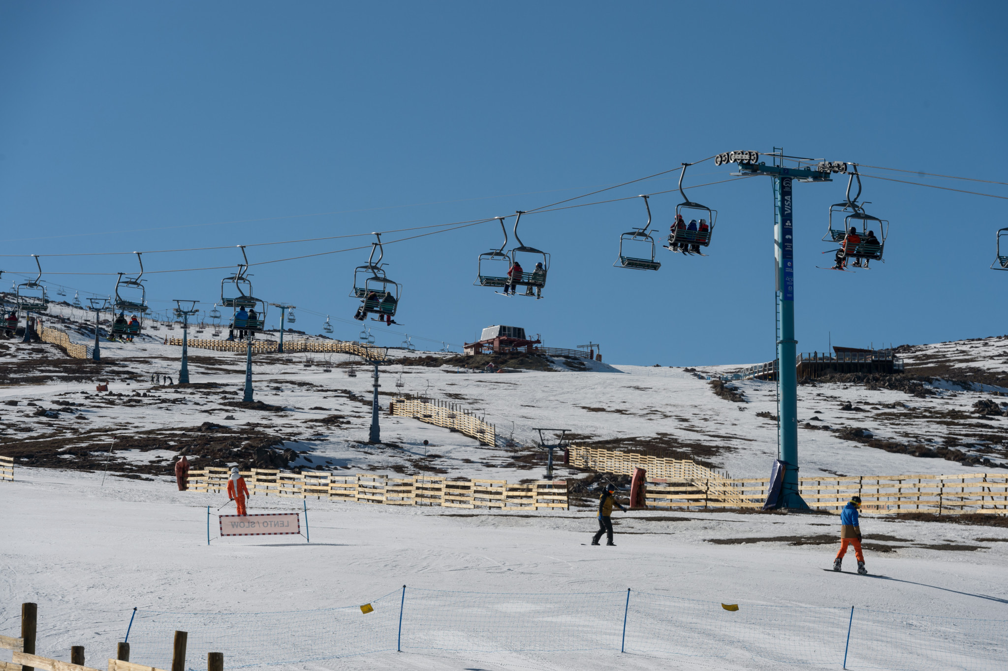 International Ski Federation hold fourth development camp in Chile