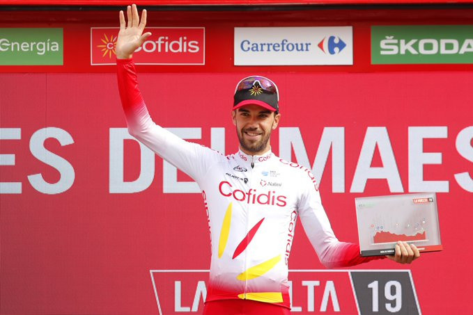 Teuns takes overall lead at Vuelta a España, as Herrada wins stage six after crash
