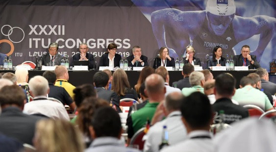 IOC President praises Casado leadership of ITU at Lausanne Congress