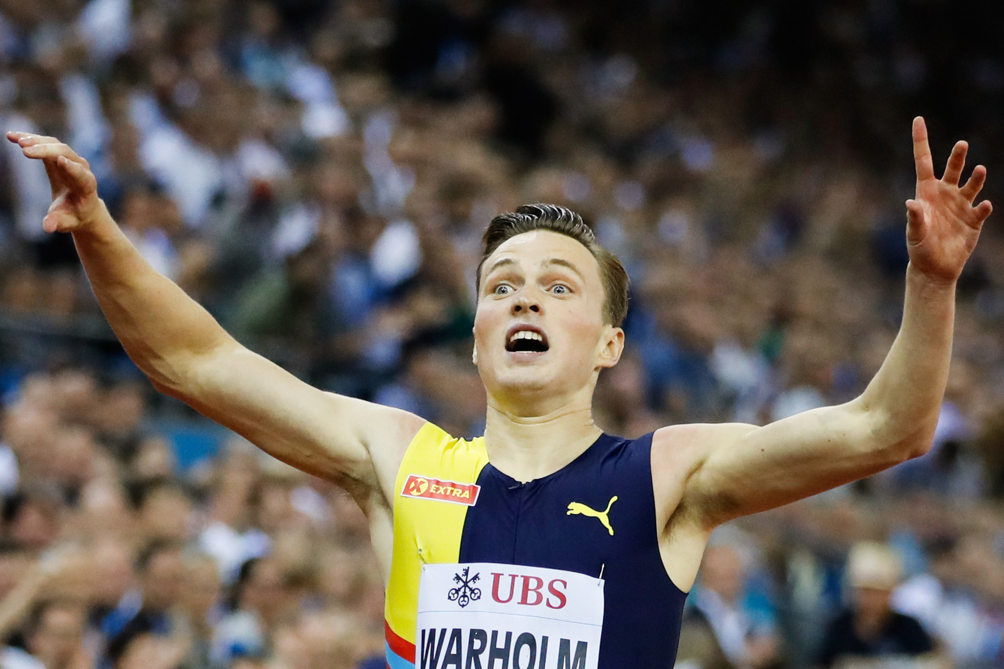 Warholm and Benjamin light up Zurich Diamond League final