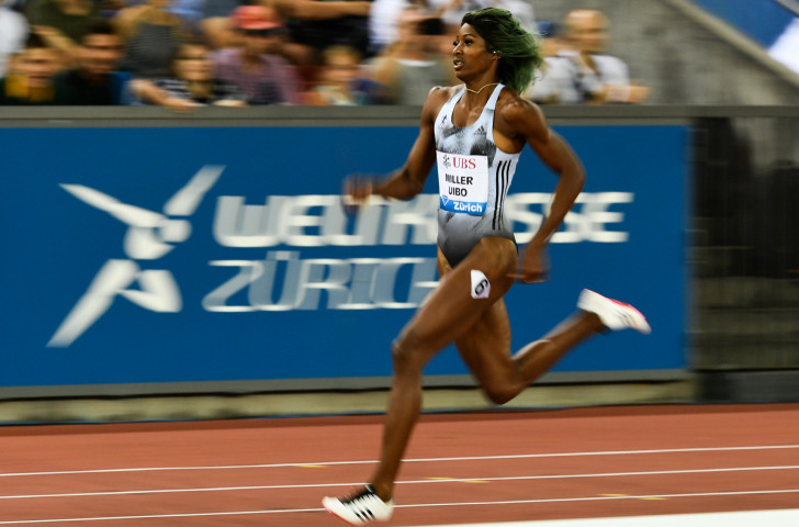 Shaunae Miller-Uibo of The Bahamas was unbeateable once again as she won the women's 200m title ©Getty Images