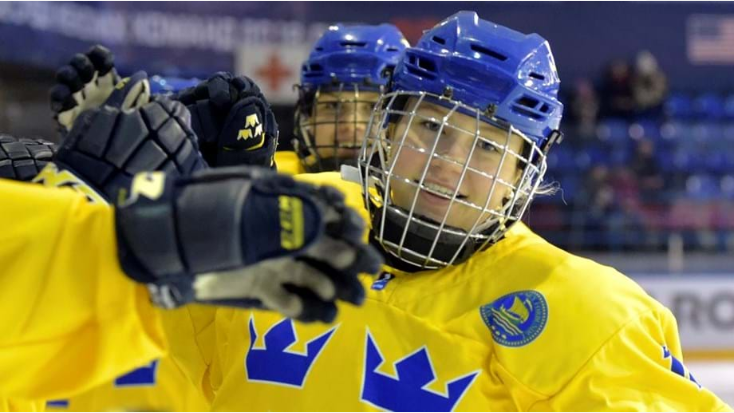 Sweden's ice hockey women broker new financial deal