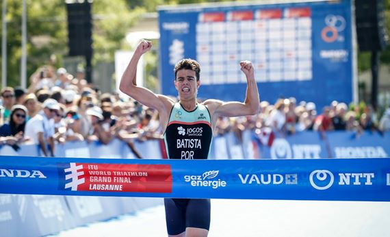 World Triathlon Grand Final glory for juniors Batista and Mallozzi