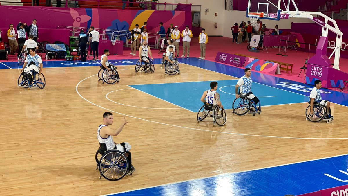 The IWBF Americas Congress was held at the Lima 2019 Parapan American Games, the wheelchair basketball zonal qualification tournament for the Tokyo 2020 Paralympic Games ©Lima 2019/Twitter