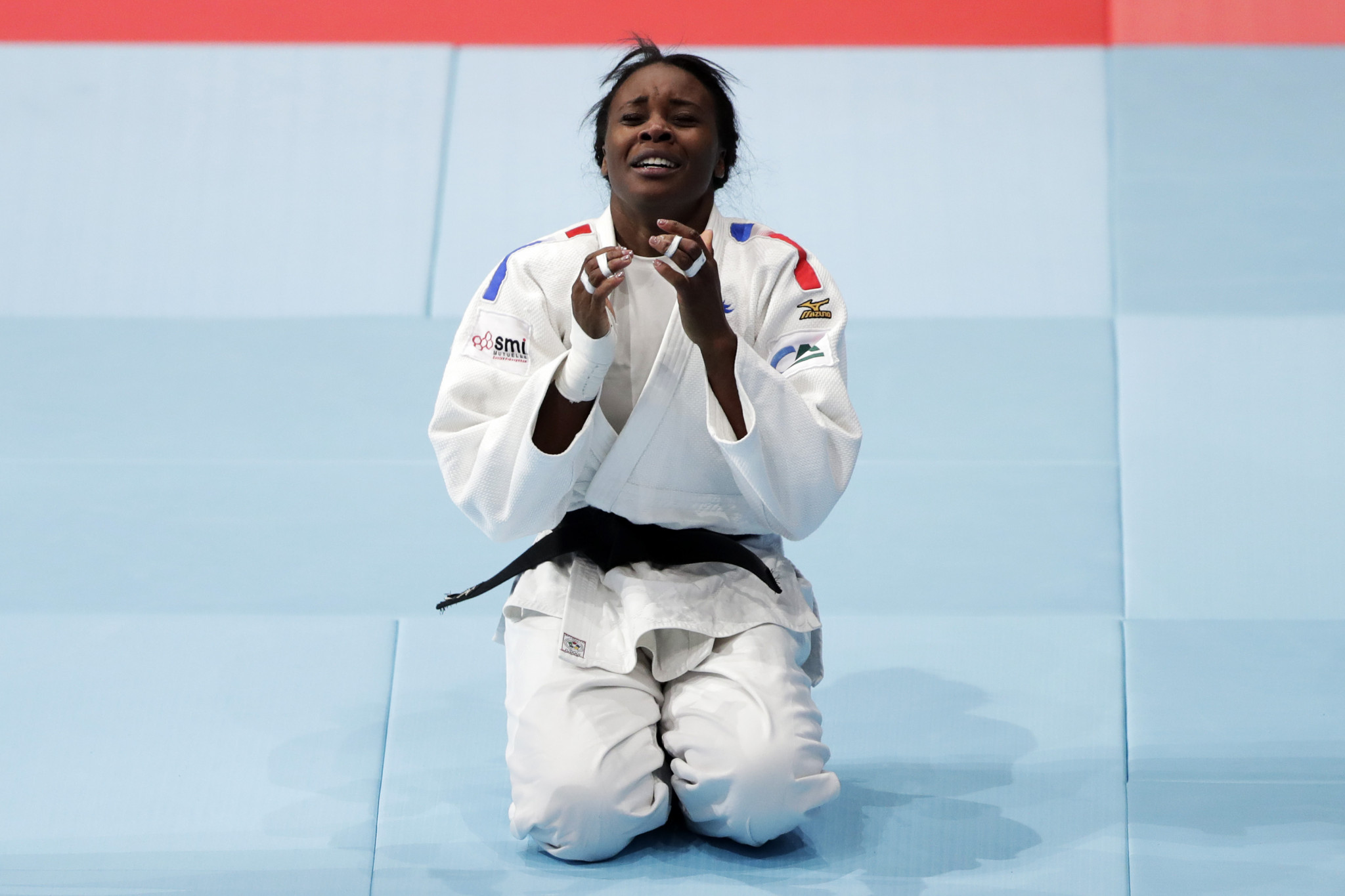 Madeleine Malonga beat the world number one and the reigning champion on her way to winning gold in the under-78 kilograms category ©Getty Images