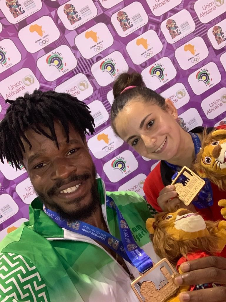 Omotayo beats the best to take African Games table tennis gold