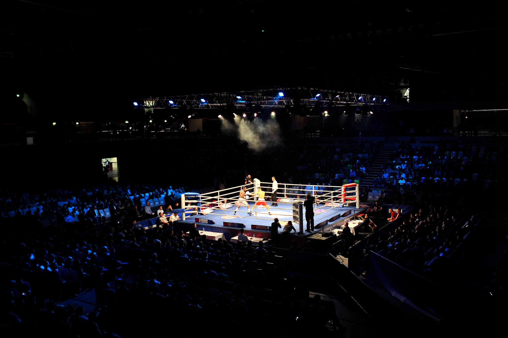 The Copper Box Arena in London will host the European qualifier for the Tokyo 2020 boxing competition ©Getty Images