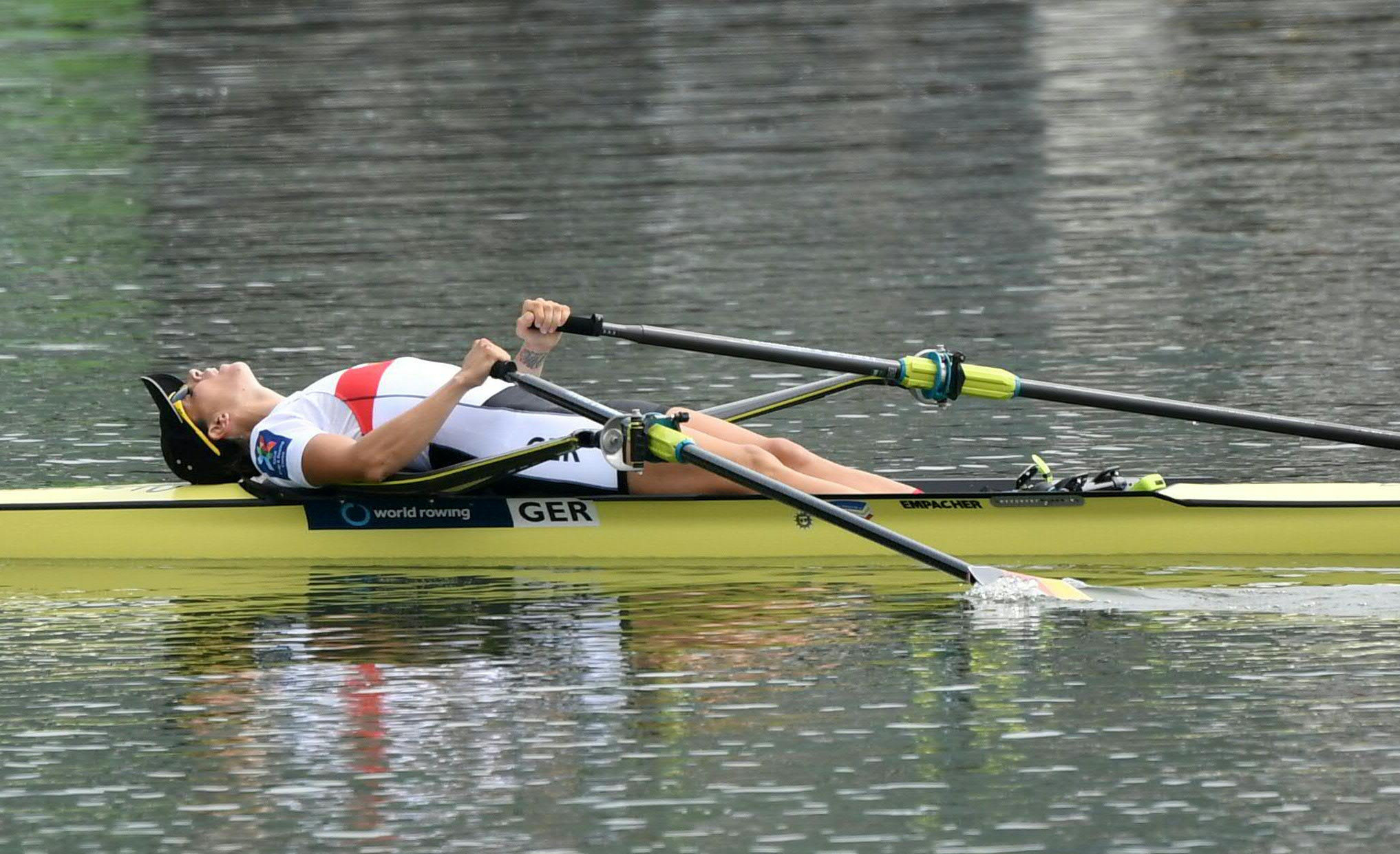 German veteran Dräger secures gold on first day of finals at World Rowing Championships