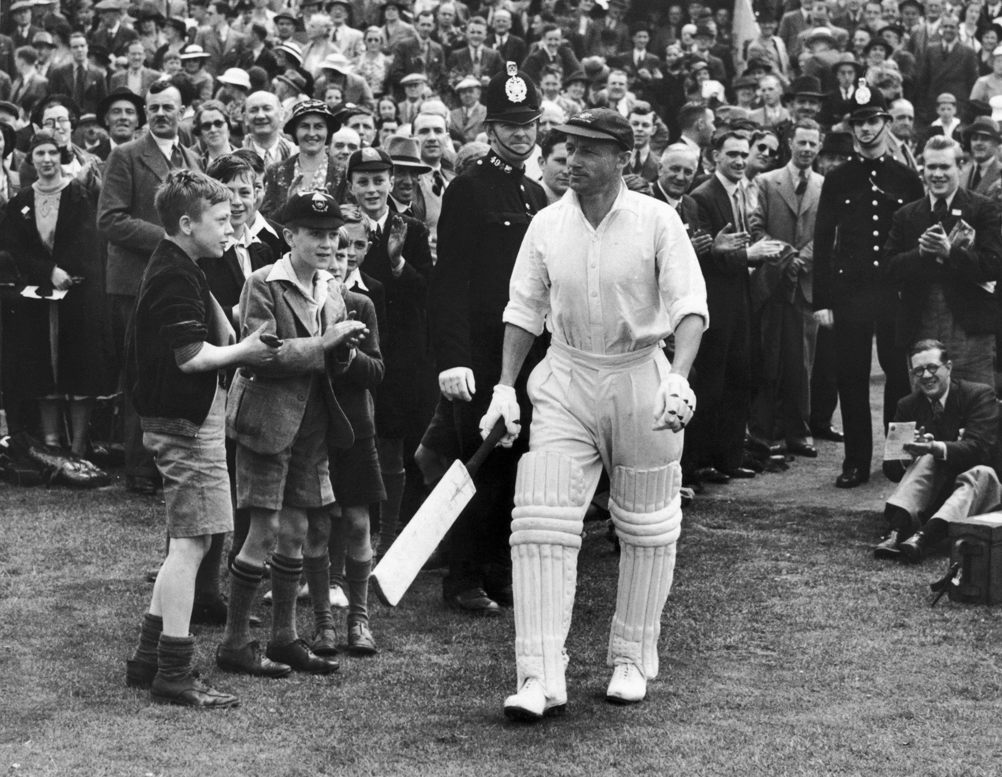 Even the great Don Bradman faced off against Canada ©Getty Images