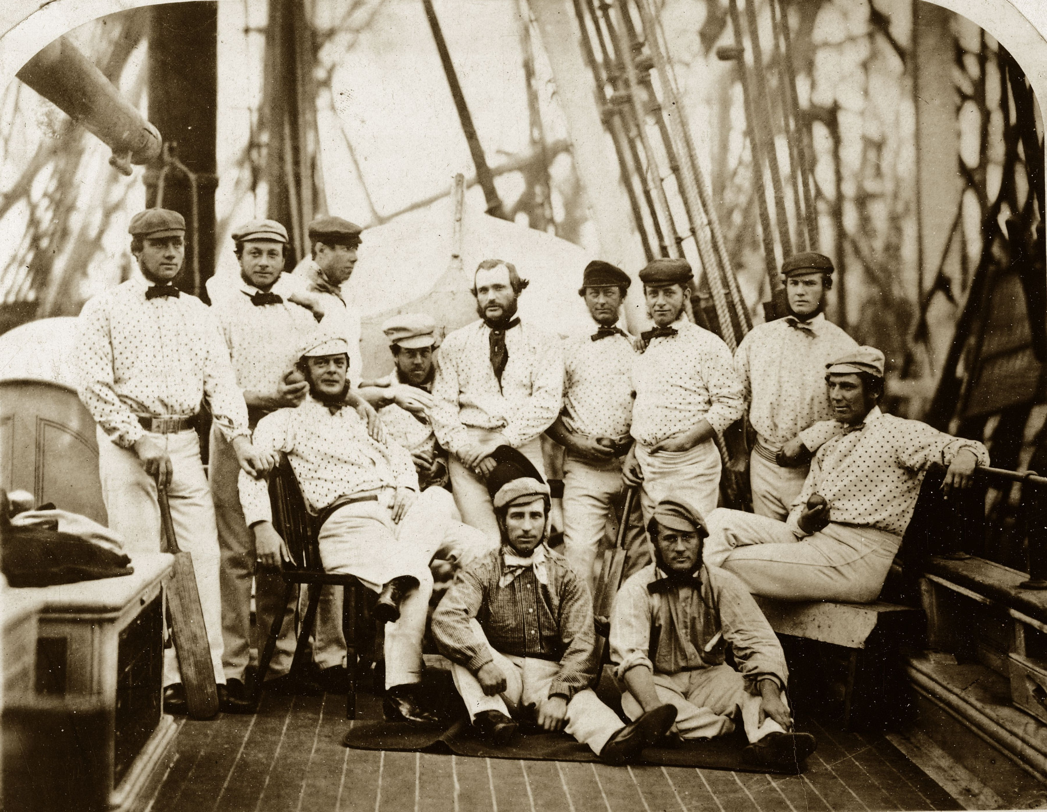 England set sail for the United States in 1859. ©Getty Images