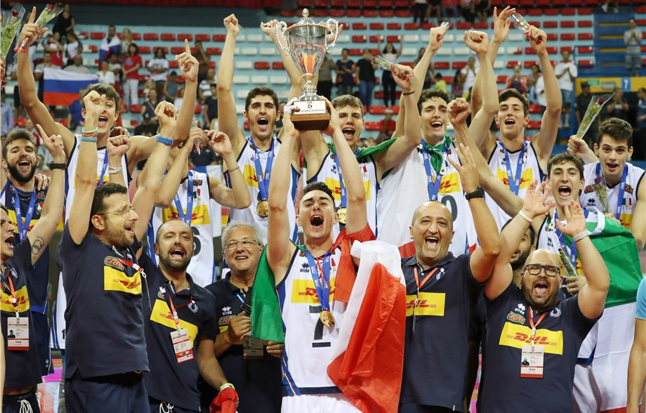 Italy overcome Russia to win FIVB Volleyball Boys' U19 World Championship