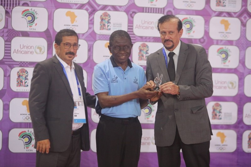 African Table Tennis Federation honour Nigeria's longest-serving umpire