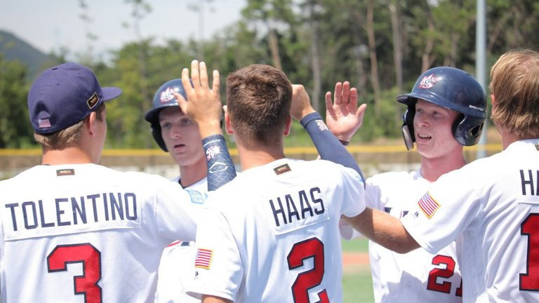 Second win for defending champions United States at WBSC Under-18 Baseball World Cup
