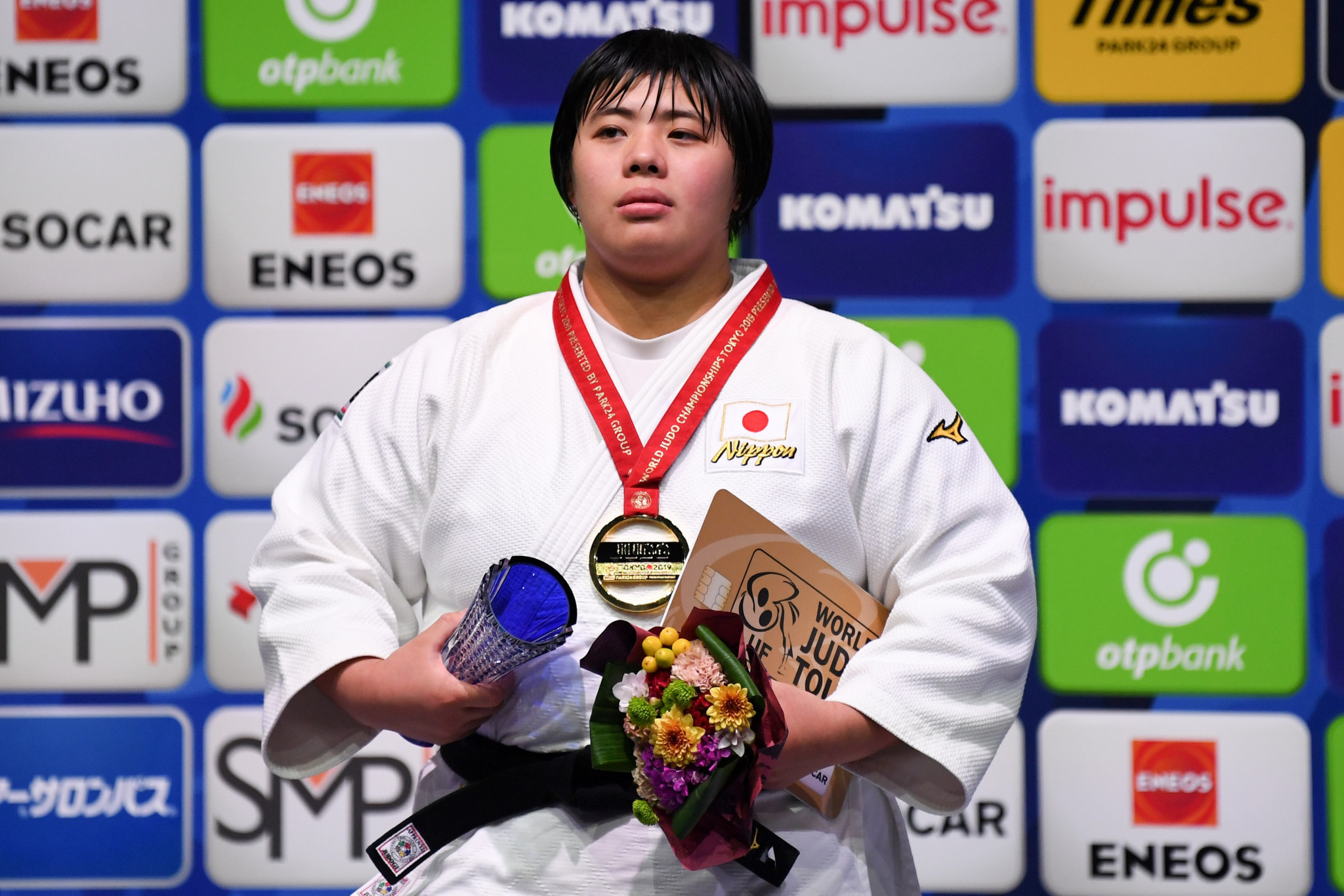 Japanese joy as Sone rounds off IJF World Championships individual competitions with gold