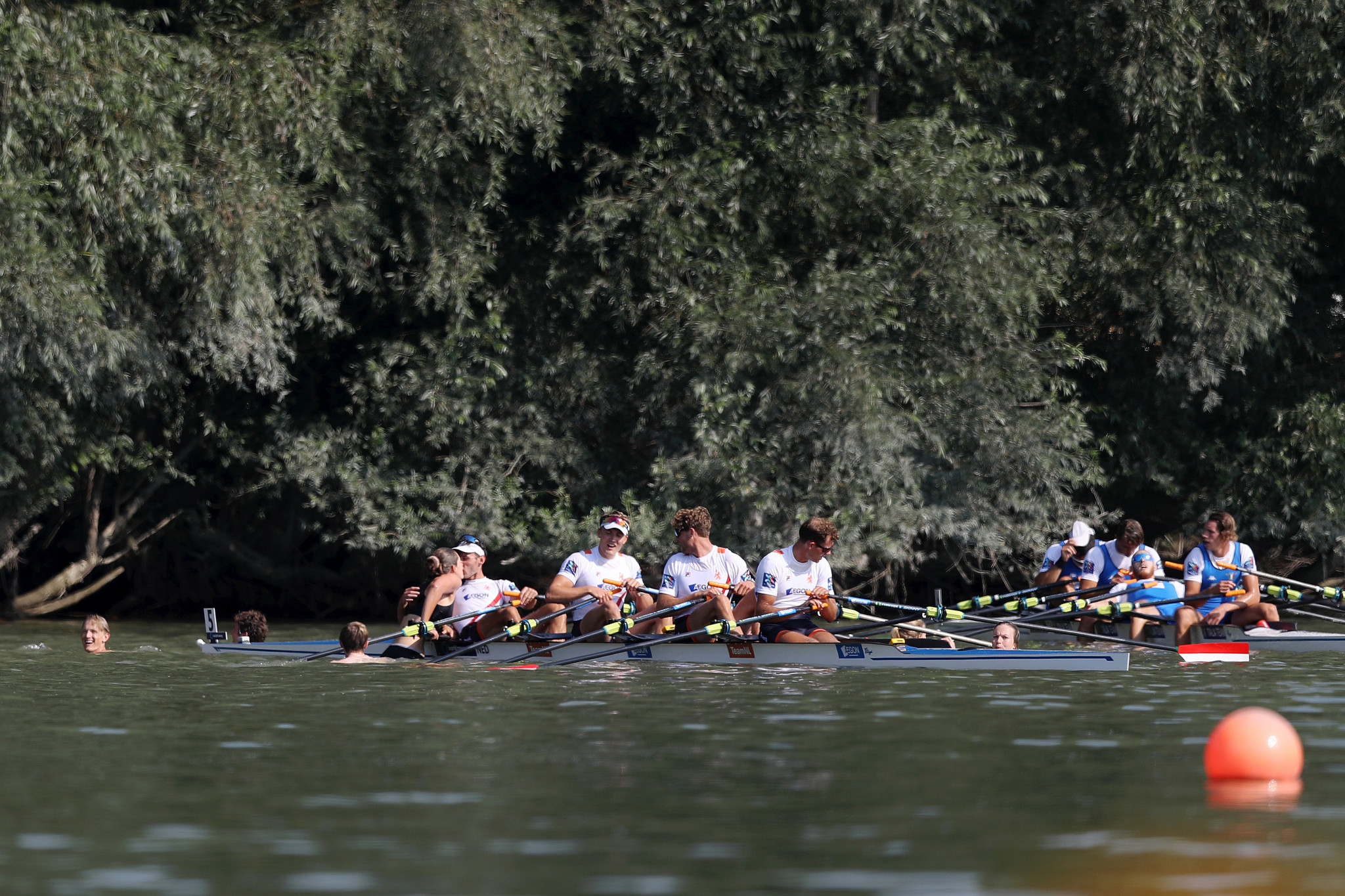 Poland spring surprise with men's four gold at World Rowing Championships