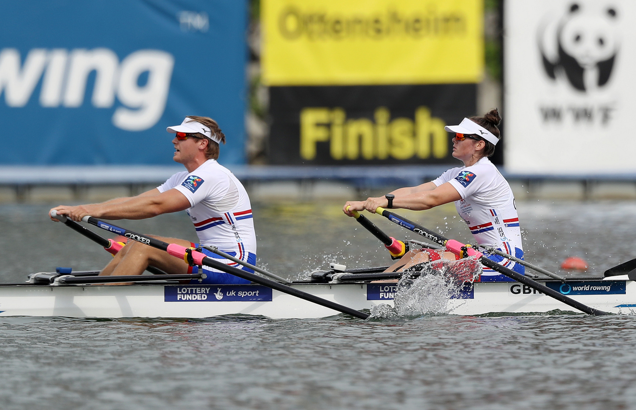 Britain secure two Para gold medals at World Rowing Championships