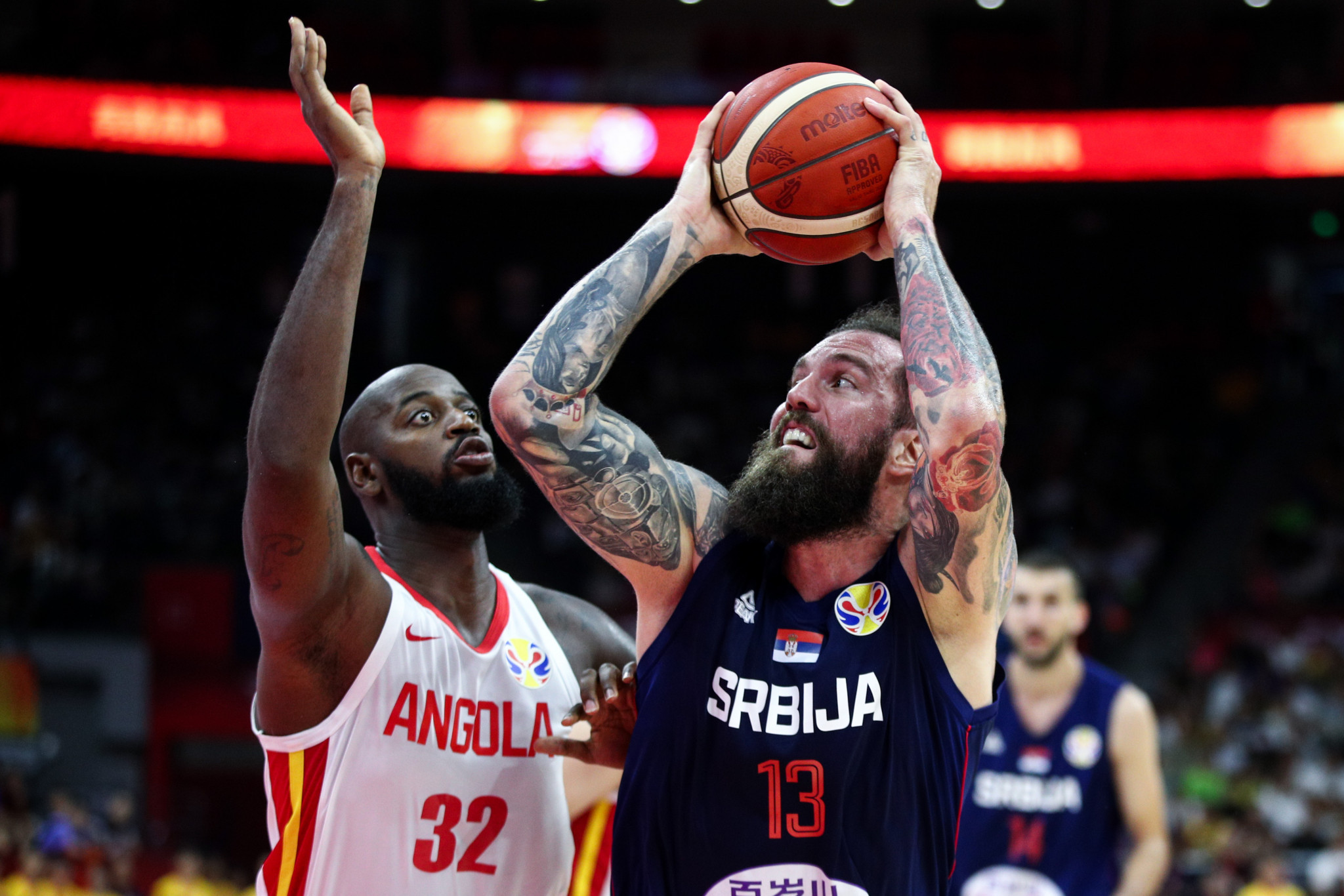 Serbia open FIBA World Cup account with resounding win over Angola
