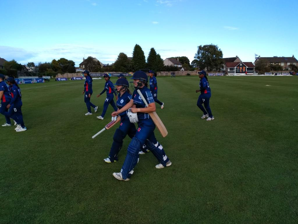 Hosts Scotland made a winning start to the ICC Women's T20 World Cup Qualifier ©T20 World Cup/Twitter