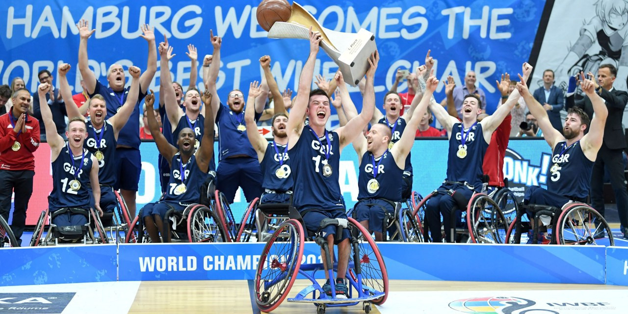 World champions Britain opened their IWBF Men's European Championship Division A campaign with a win ©IWBF