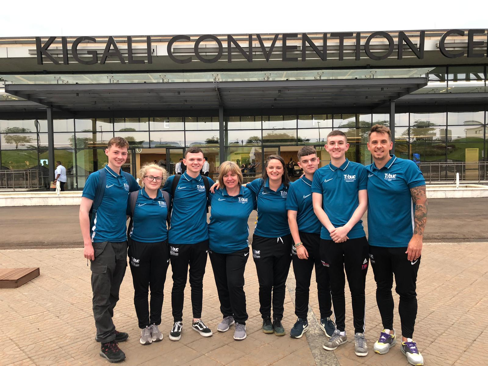 Young ambassadors from Belfast forge links with Rwanda at CGF General Assembly