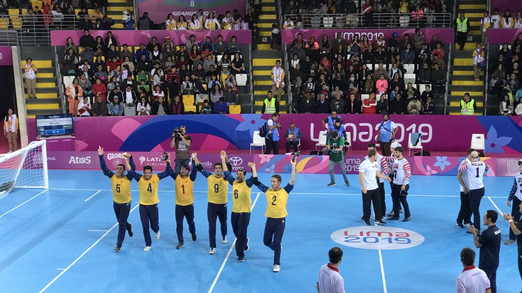 Brazil secure goalball double at Lima 2019 Parapan American Games