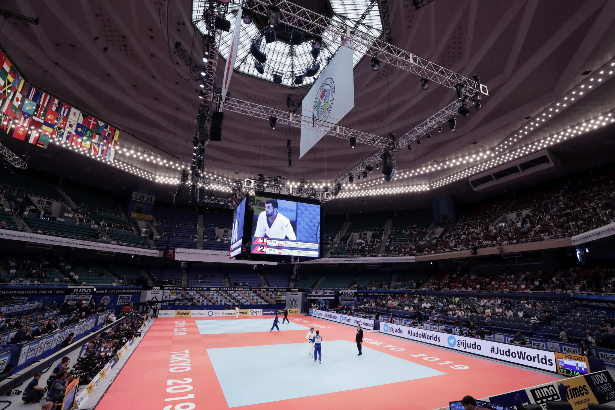 "Tokyo 2020 ""delighted"" with IJF World Championships which doubled as judo test event"