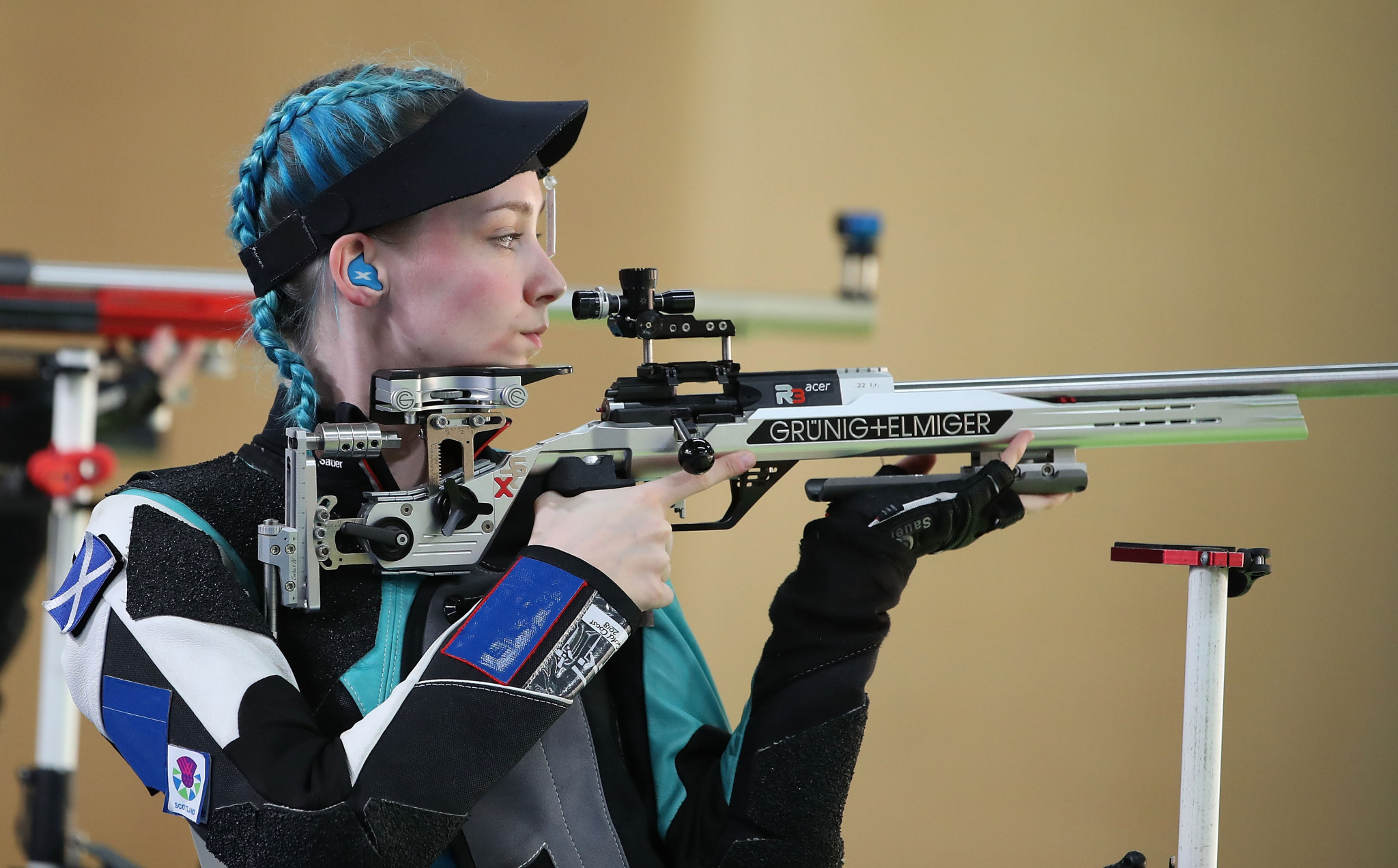 McIntosh earns 50m rifle three positions gold at ISSF Rifle and Pistol World Cup
