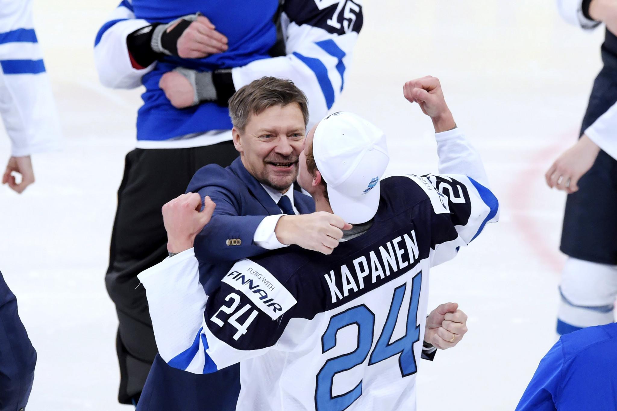 Double World Championship winner Jalonen extends contract with Finnish ice hockey team