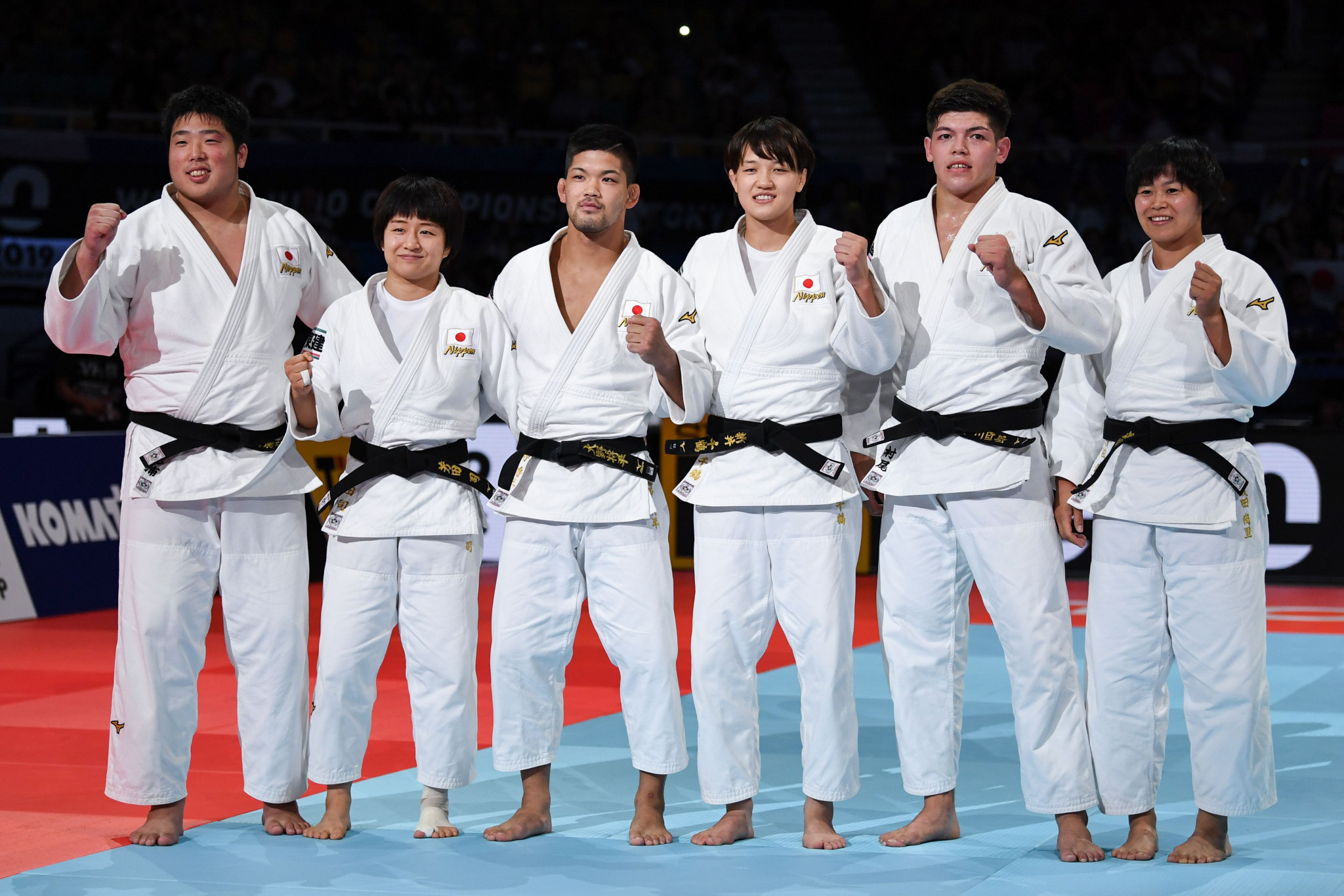 Japan win hat-trick of IJF World Championship mixed team golds by beating France in Tokyo