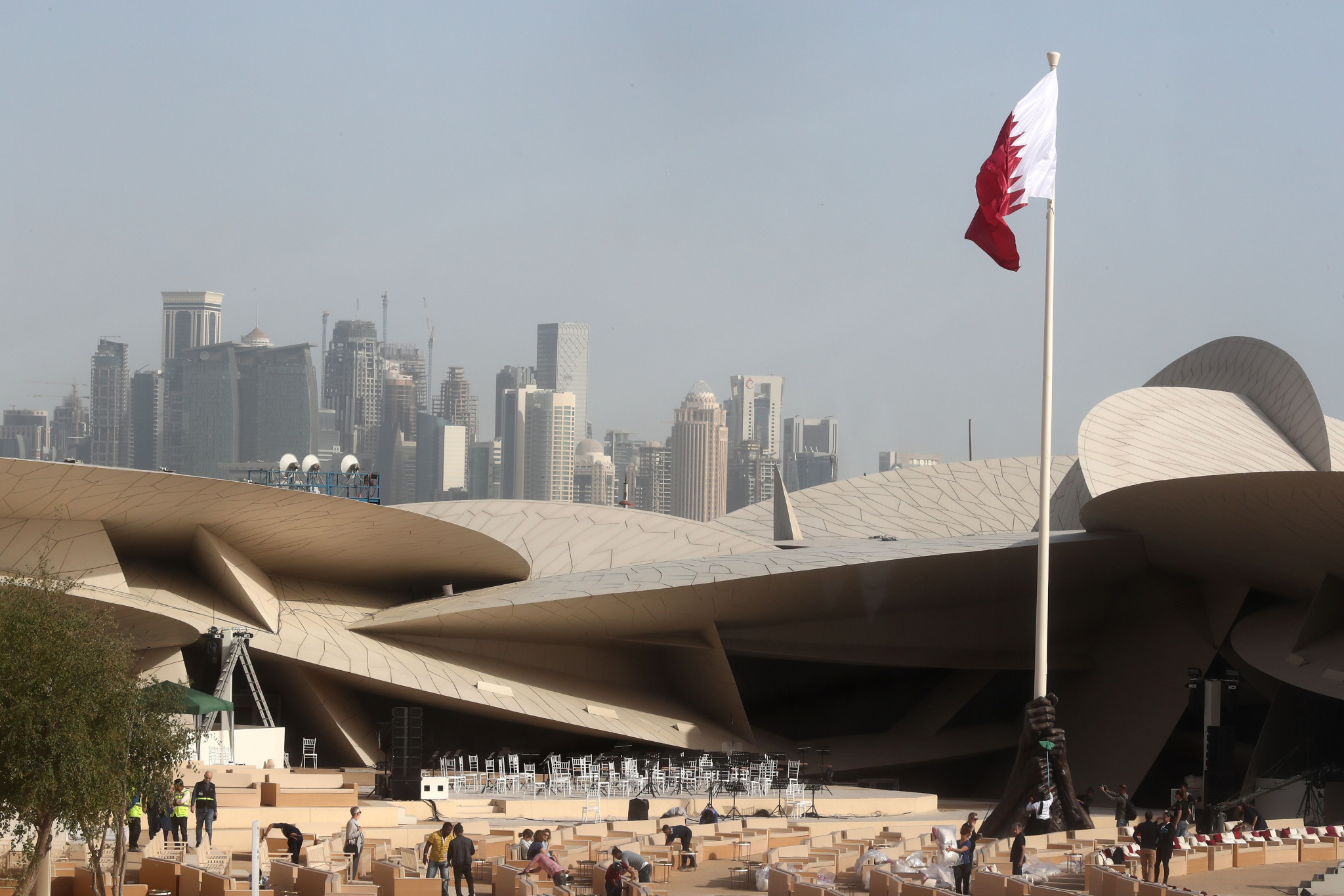 Qatar has stepped in to host the ANOC World Beach Games at short notice ©Getty Images