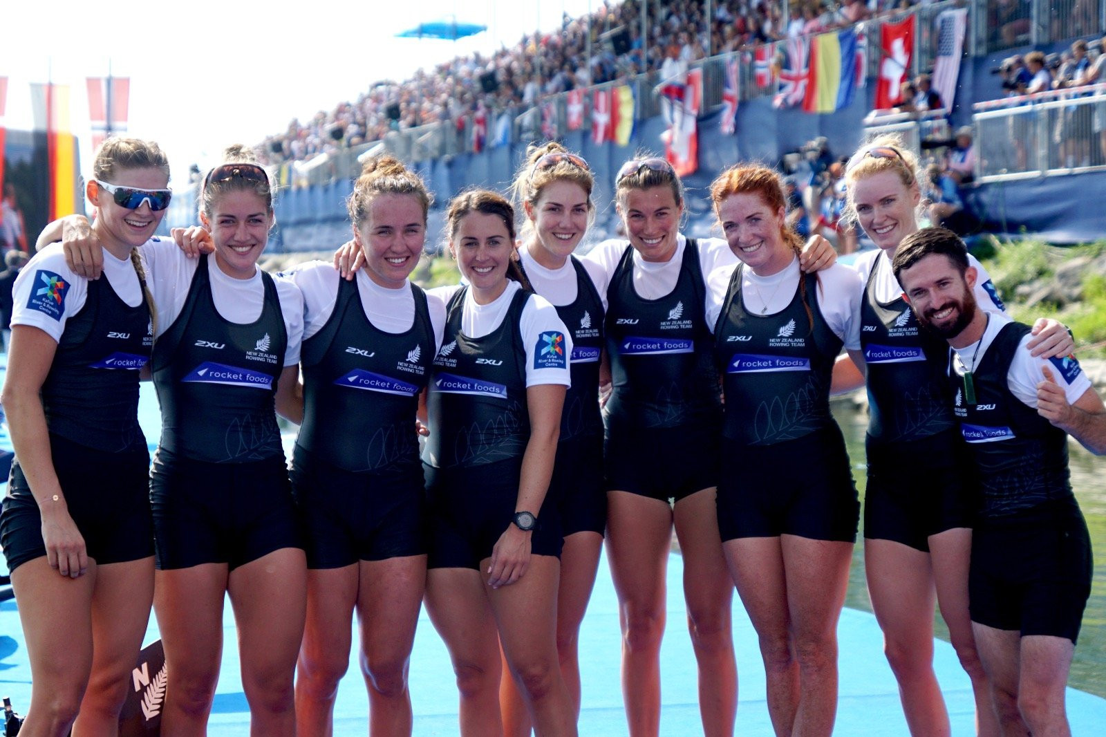 Germany and New Zealand lead Olympic qualification on final day of World Rowing Championships