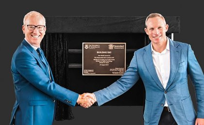 Queensland University open new multi-million dollar sporting facilities