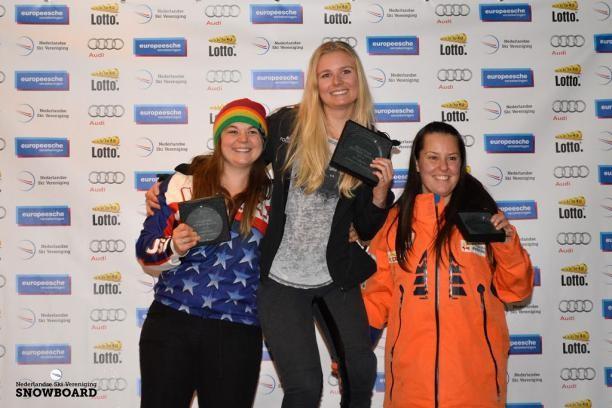 Bunschoten seals maiden IPC Snowboard World Cup win on home snow in Landgraaf
