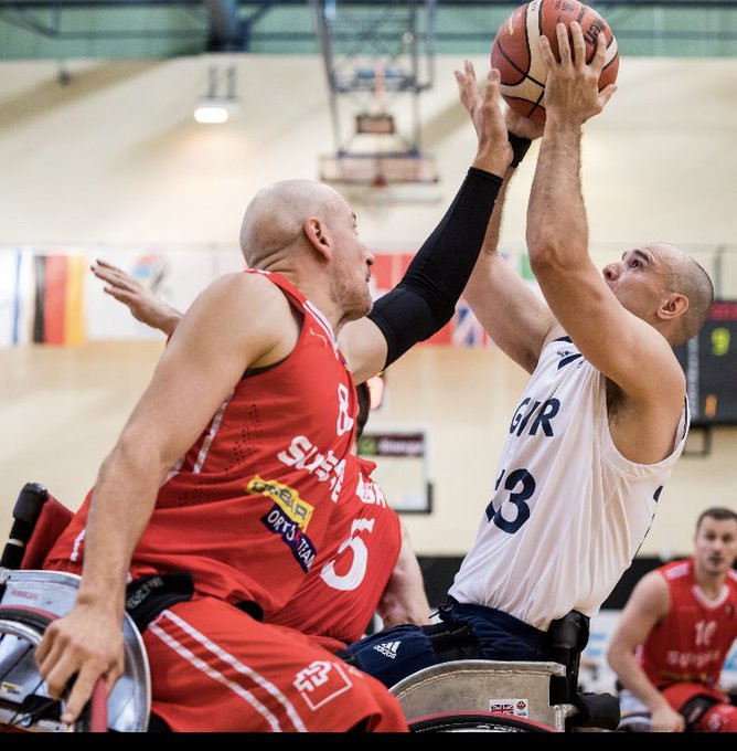 Britain thrashed Switzerland in the IWBF Men's European Championship Division A ©IWBF