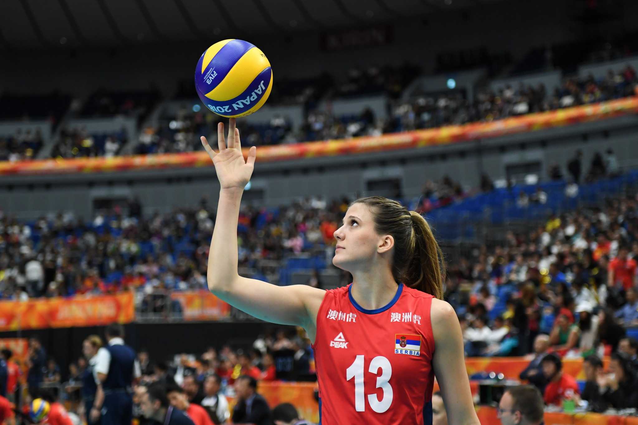 Serbia beat Romania to reach Women's European Volleyball Championship quarter-final