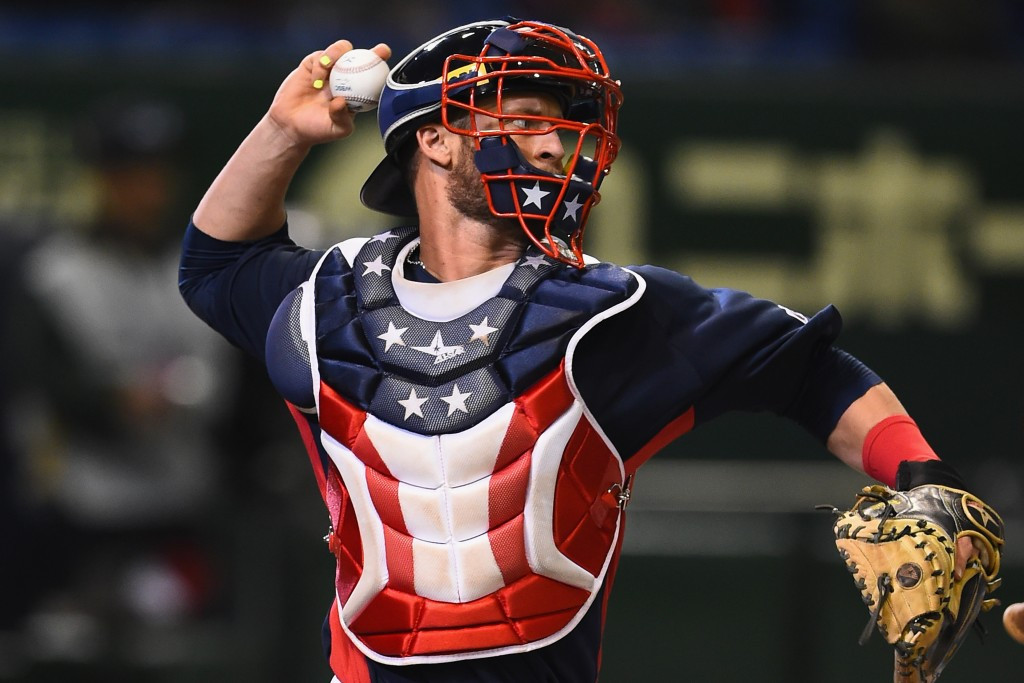 In pictures: United States beat Mexico in second WBSC Premier12 semi-final