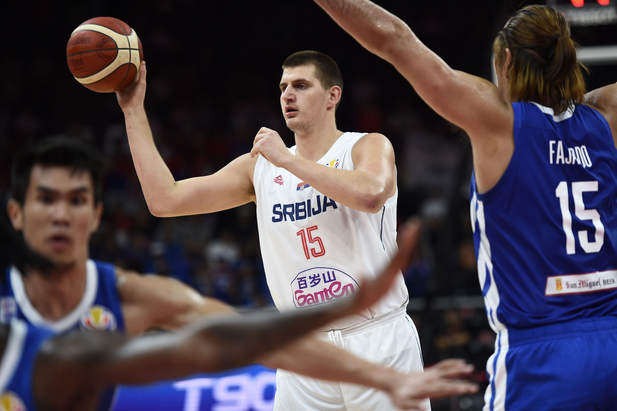 Six countries reach second phase on day three of FIBA World Cup