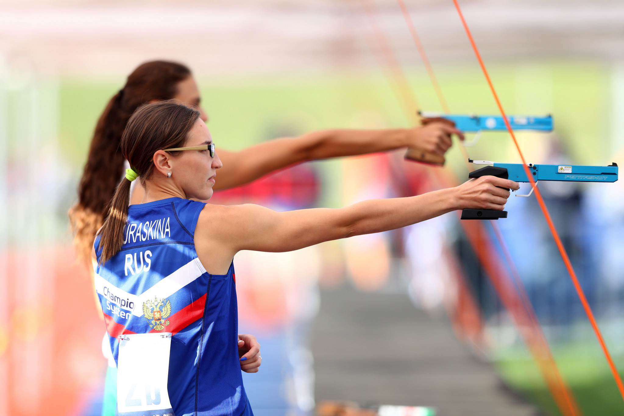 First modern pentathlon virtual laser shooting qualifiers end ahead of finals