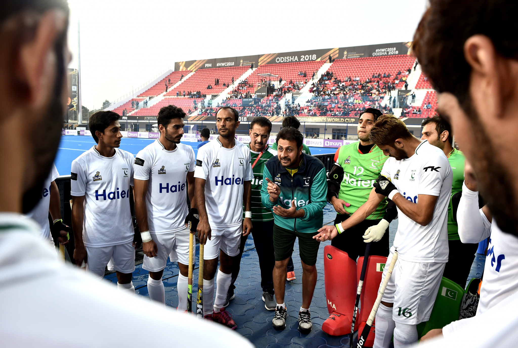 Pakistan men's hockey are looking to return to the Olympic Games' after missing out on Rio 2016 ©Getty Images