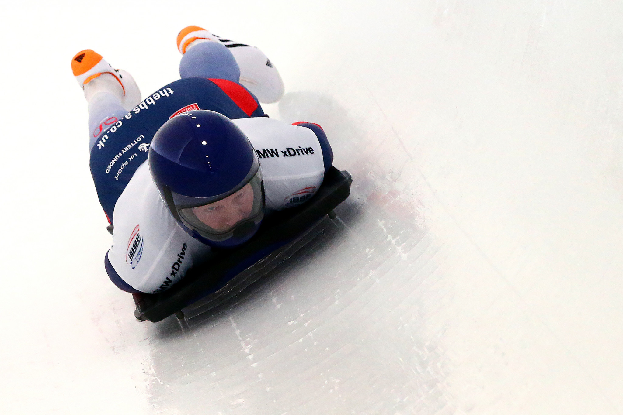 Natalie Dunman has overseen the skeleton squad since becoming interim performance director last year ©Getty Images
