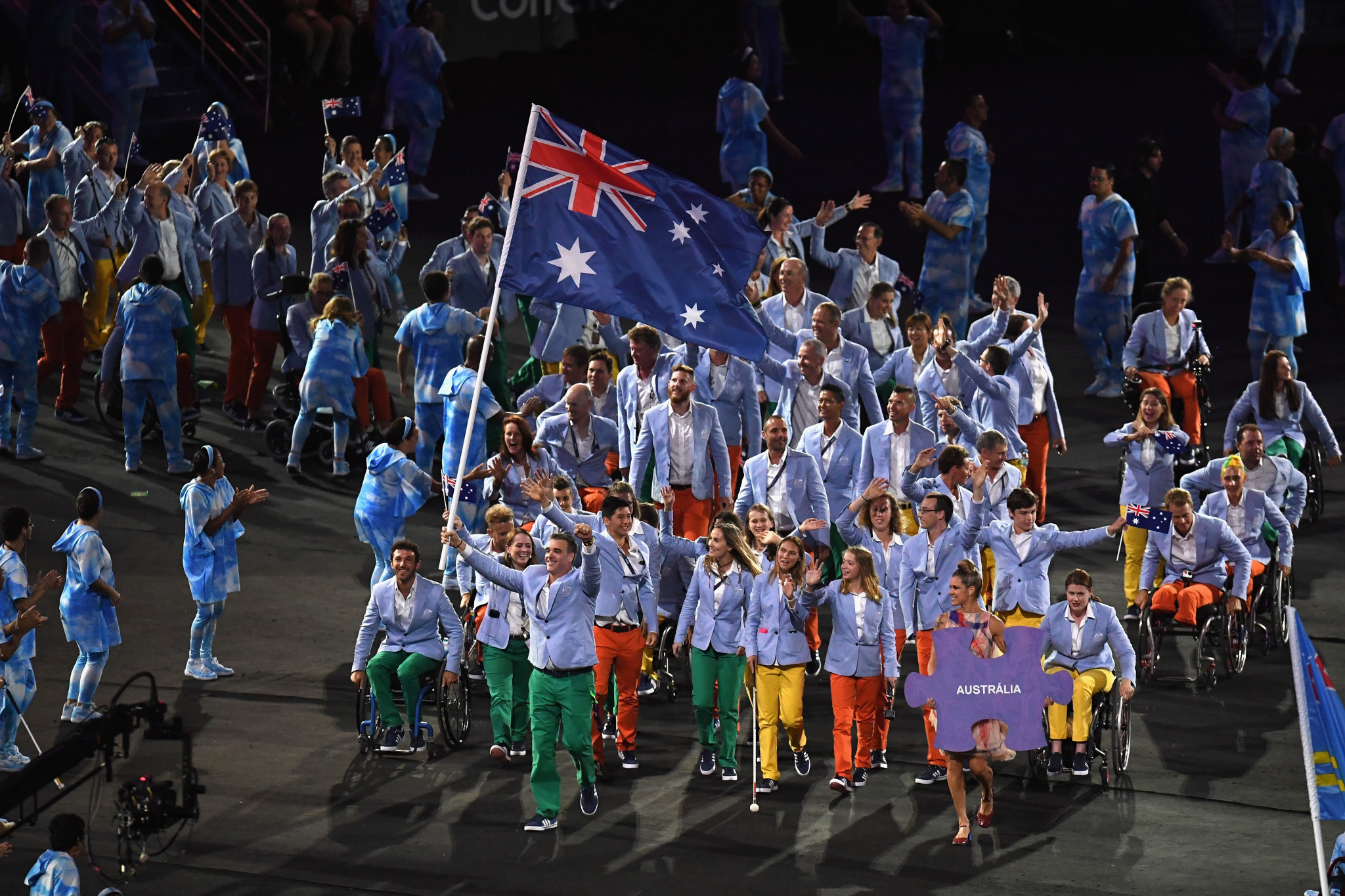 Australia finished fifth on the medals table at the 2016 Paralympic Games in Rio de Janeiro ©Getty Images
