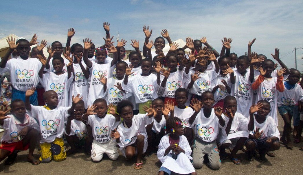 Ivory Coast NOC holds sports fitness event to celebrate Olympic Day