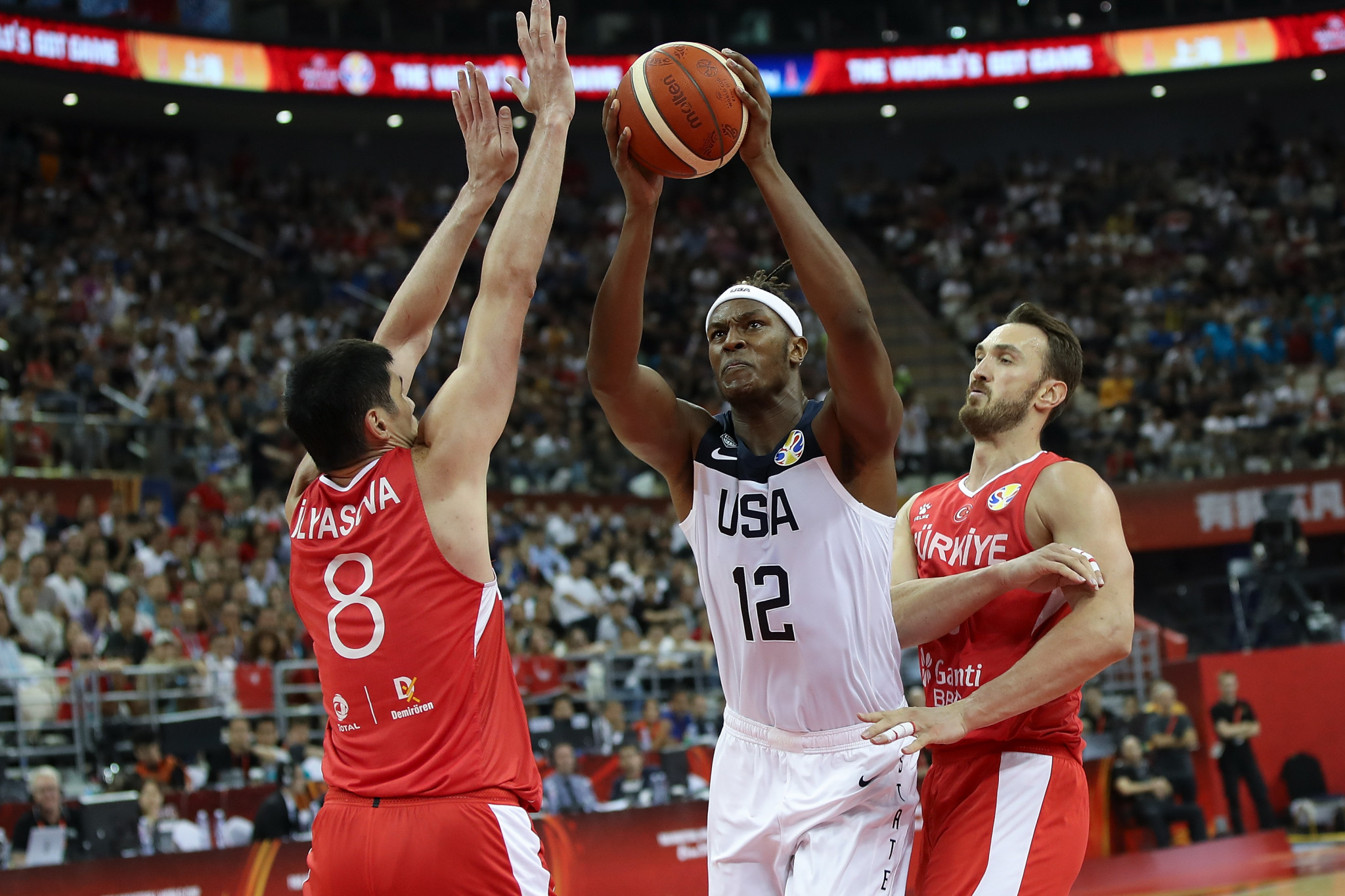Holders United States edge Turkey in thriller at FIBA World Cup