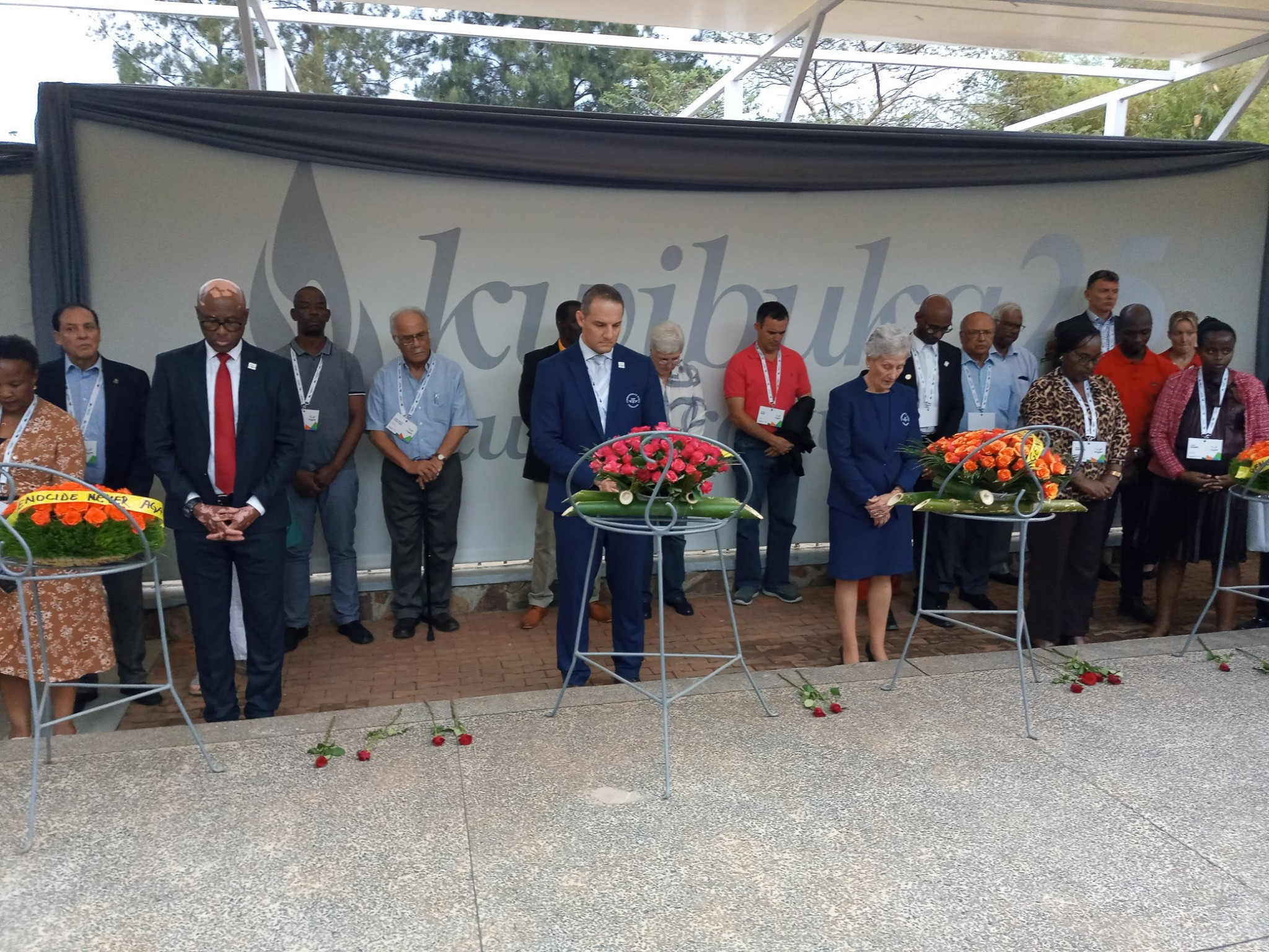 Commonwealth Games Federation General Assembly in Kigali starts with dancing and wreath-laying ceremony