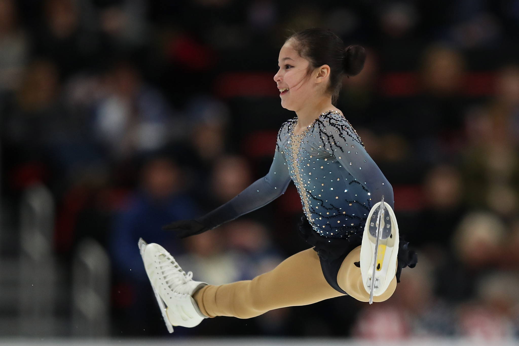 Fourteen-year-old American Alysa Liu is the hottest name in the sport right now Getty Images