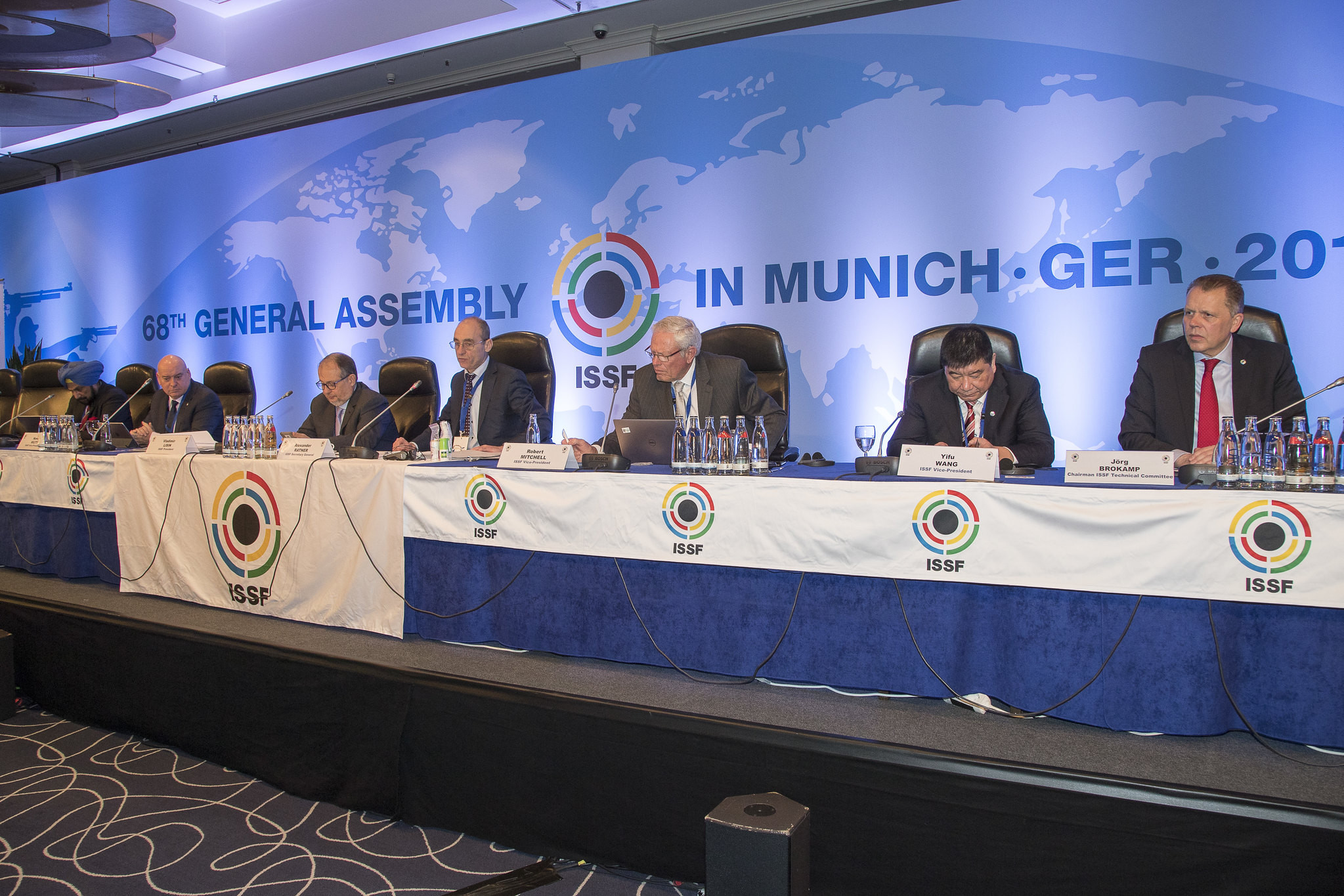 Luciano Rossi is challenging the result of the vote at the ISSF General Assembly in Munich ©ISSF