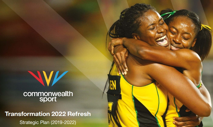 "CGF launch new brand as Transformation 2022 Refresh wants athletes to be ""agents of change"""