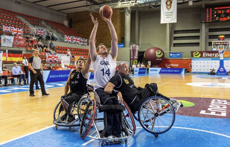 Great Britain and Spain top groups at IWBF Men's European Championships